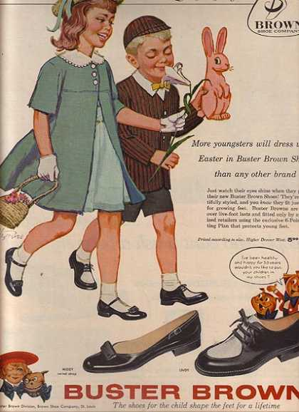 Buster Brown Mary Jane Shoes