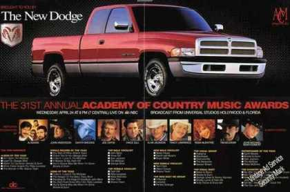 Dodge Pickup Country Music Awards Truck (1996)