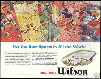 Wilson Office River Grove Illinois Sport Equip (1957)
