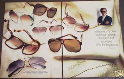 Foster Grant Fashion Sunglasses 2 Pg Photo (1979)