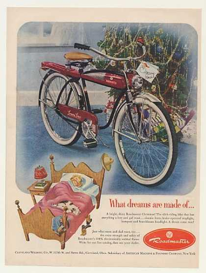 AMF Roadmaster Luxury Liner Bicycle (1952)