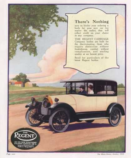 The Regent, Cars, UK (1919)