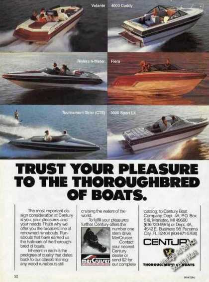 Century Thoroughbred of Boats Color (1985)