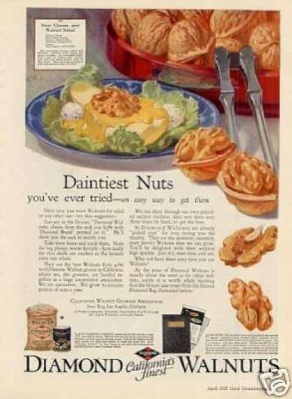 Diamond Walnuts Color (1925)