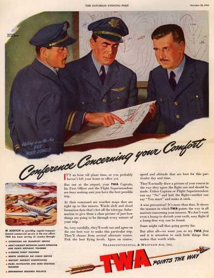 Transcontinental & Western Air – Conference Concerning your Comfort (1944)