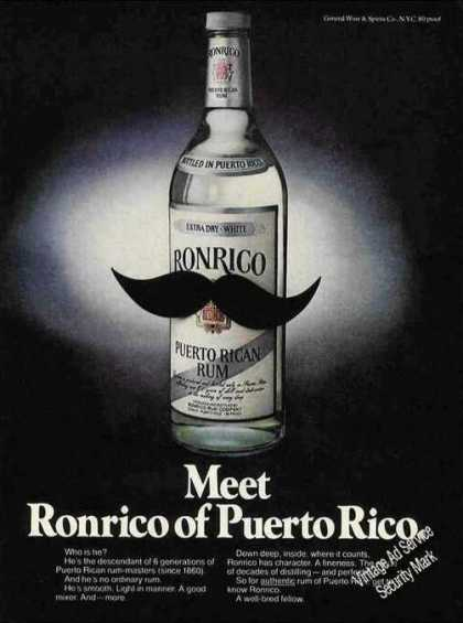 """Meet Ronrico of Puerto Rico"" Rum (1978)"