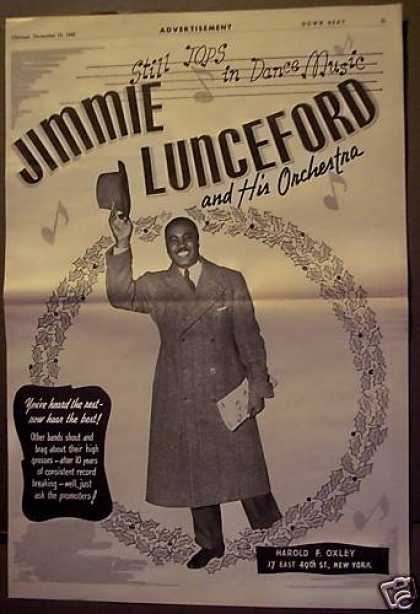 Jimmie Lunceford & His Orchestra Music (1943)