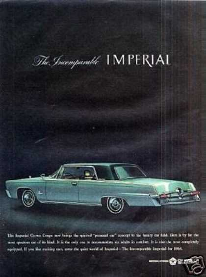Chrysler Imperial Crown Coupe (1964)