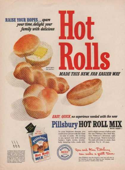 Pillsbury Hot Roll Mix (1949)