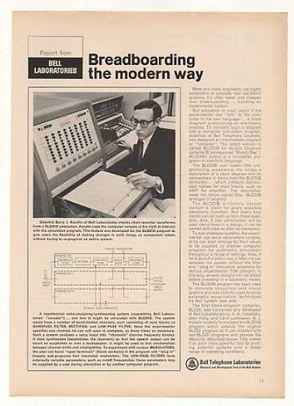 Bell Telephone Labs Computer BLODIB Compiler (1968)