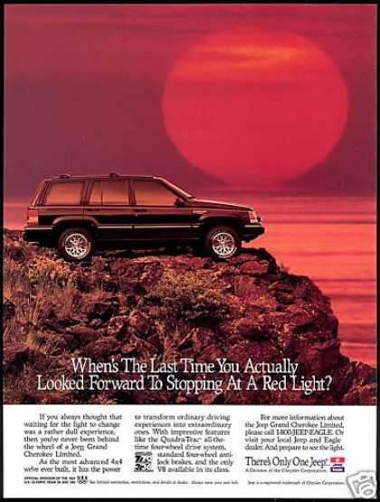 Jeep Grand Cherokee Limited Sunset Photo (1994)