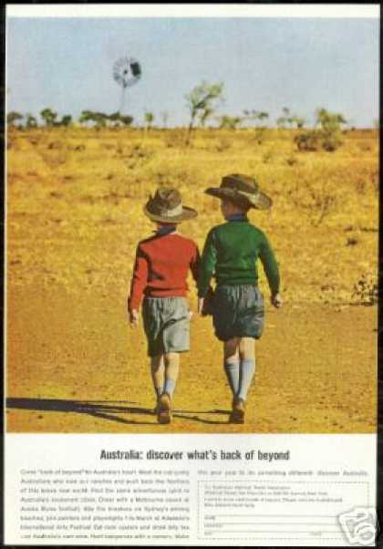 Australia Travel Whats Back of Beyond Boys (1966)