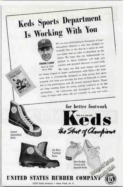Keds Basketball/foot (1941)