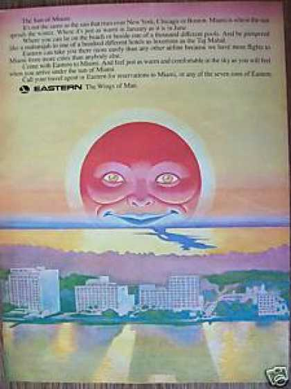 Eastern Airlines With a Sun (1969)