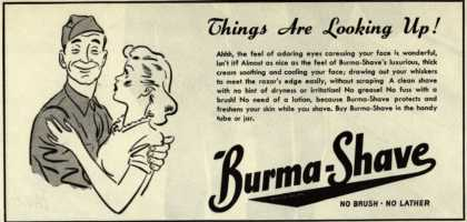 Burma-Vita Company's Burma-Shave – Things Are Looking Up (1946)