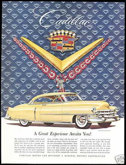 Yellow Cadillac 2 Dr Harry Winston Jewels Car (1953)