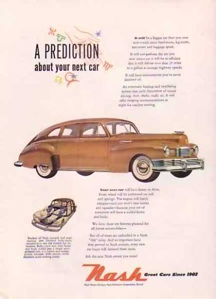 Nash Motors – A Prediction (1948)