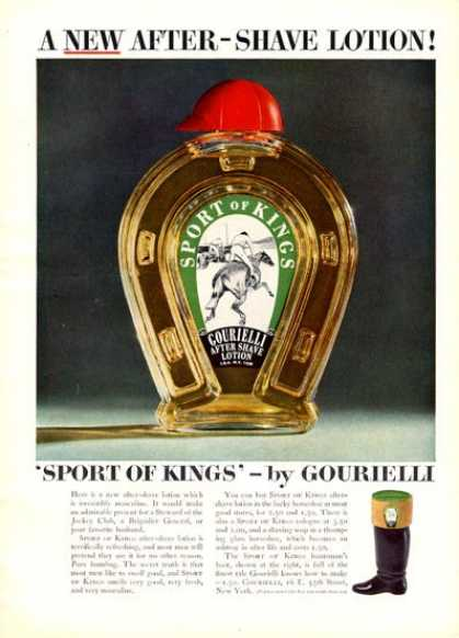 Gourielli After Shave Bottle (1951)