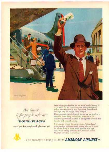 American Airlines – Going Places (1949)