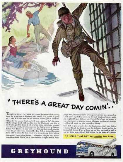 "Greyhound Buses ""There's a Great Day Comin..'"" (1944)"