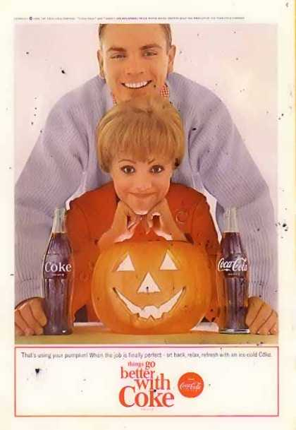 Coke That's Using Your Pumpkin (1964)