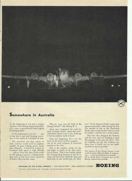Boeing Somewhere In Australia (1942)