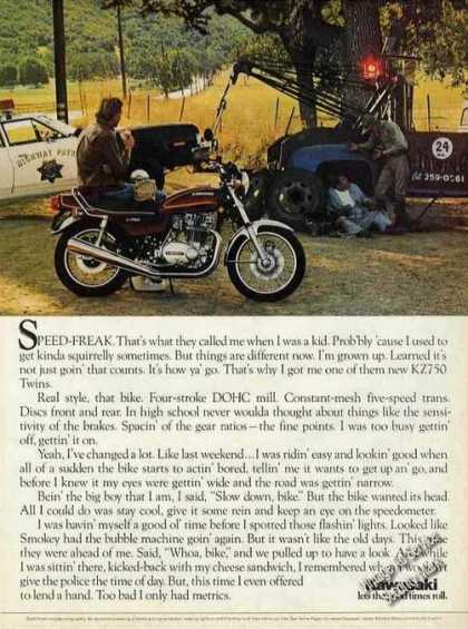 "Kawasaki Kz750 ""Speed-freak"" (1976)"