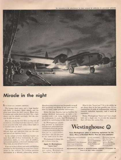 Miracle In the Night Westinghou (1942)