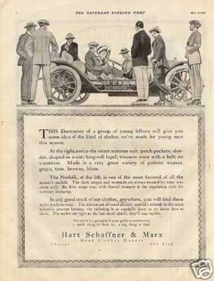 Hart Schaffner &amp; Marx Clothes (1912)