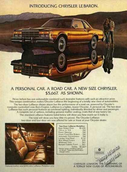"Introducing Chrysler Le Baron ""New Size"" (1977)"