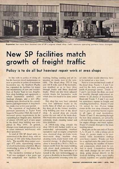 """Sp Facilities Match Growth""Article/ (1965)"