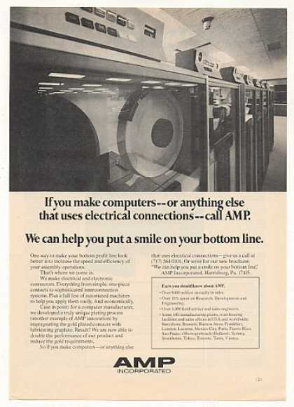 Amp Incorporated Computer Electrical Connectors (1974)