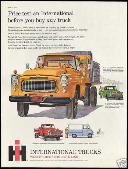 IHC International Truck Pickup Metro Dump Stake (1960)