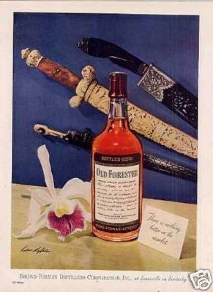 Old Forester Bourbon Whiskey (1946)