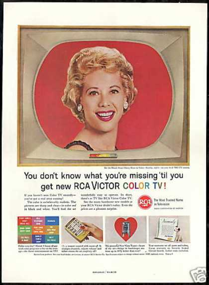 Dinah Shore Photo RCA TV Television Vintage (1961)