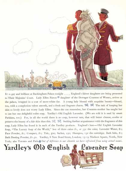 Yardley & Co., Ltd.'s Old English Lavender Soap – Yardley's Old English Lavender Soap (1928)