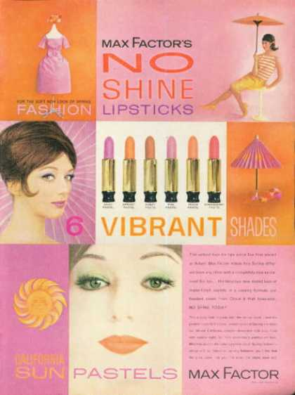 Max Factor Lipstick Make Up (1961)