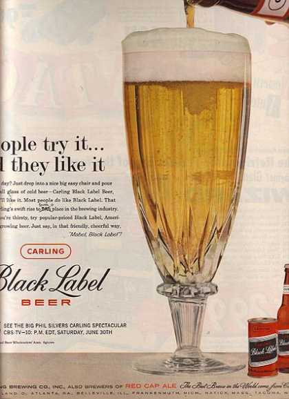 Carling's Black Label Beer (1960)