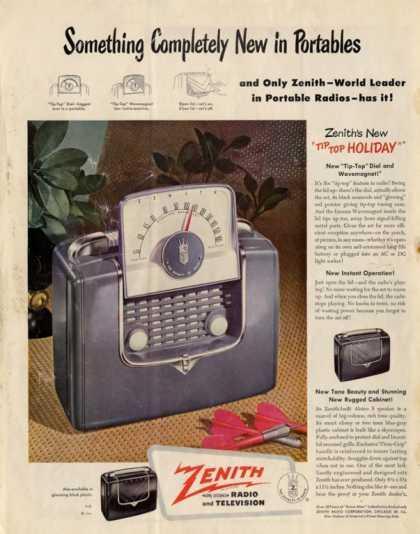 Zenith Portable Radio (1949)