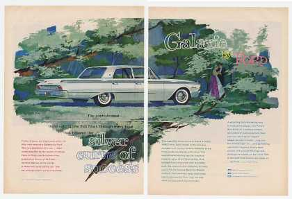 Ford Galaxie Silver Curve of Success (1960)