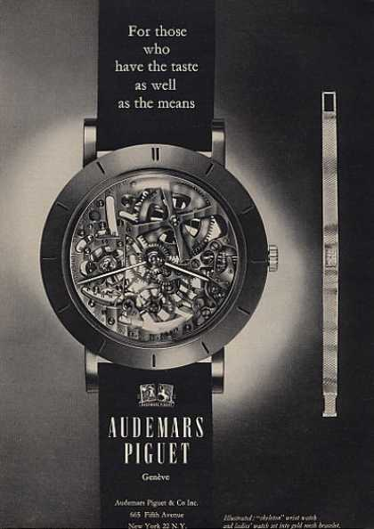 Audemars Piguet Watch : For Those Who (1964)