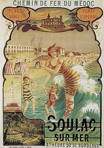 Soulac Sur Mer by Boudon (1900)