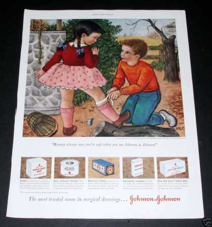 Johnson & Johnson Dressings (1950)