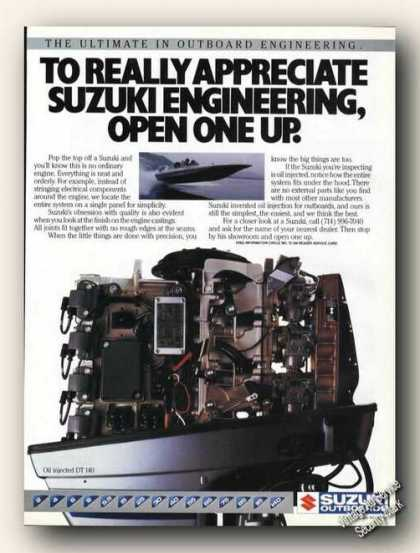 Suzuki Outboards Ultimate In Engineering Promo (1985)