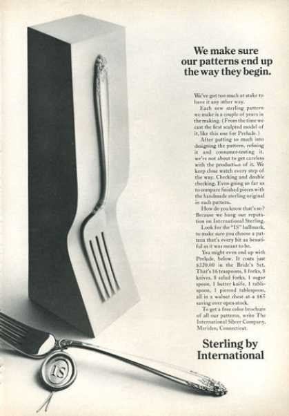 Sterling International Silverware (1966)
