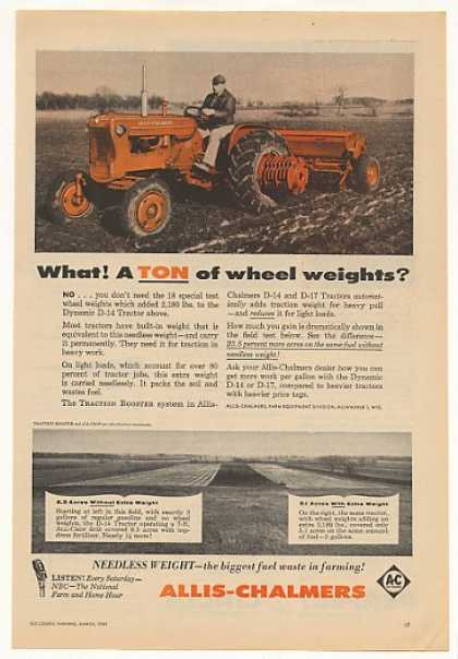 Allis-Chalmers Dynamic D-14 Tractor (1959)