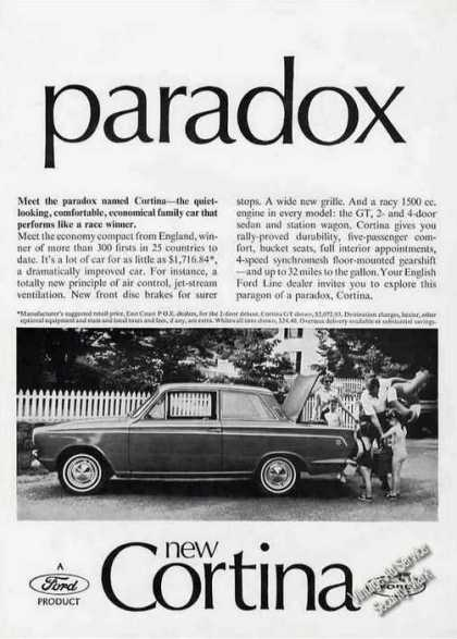 Meet the Paradox From England – Cortina Photo (1966)