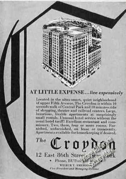 The Croyden 12 E 86th St New York (1931)