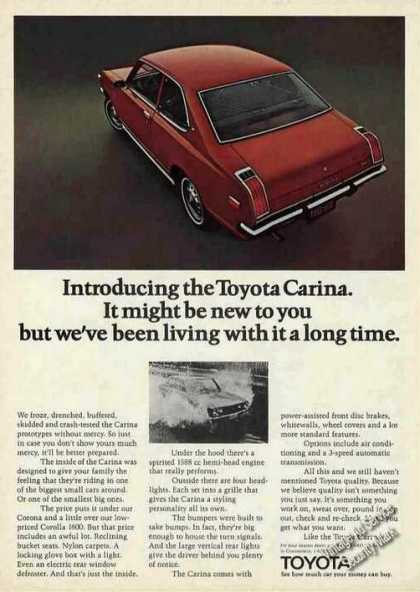 Toyota Carina Photos (1972)