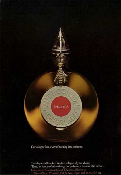 Guerlain Shalimar Bottle (1965)